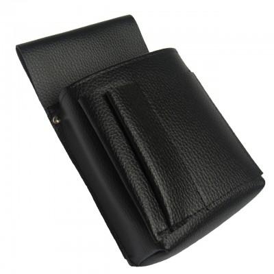Čašnícke vrecko, puzdro -  New Barex, imitácia kože, čierna