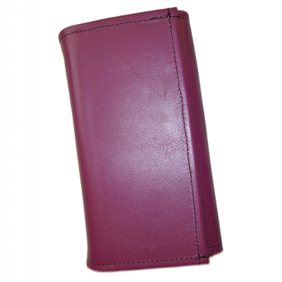 Kožená peňaženka - fialová