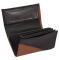 Kožená peňaženka - terakota/čierna