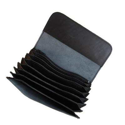 Celokožená kasírka - černá